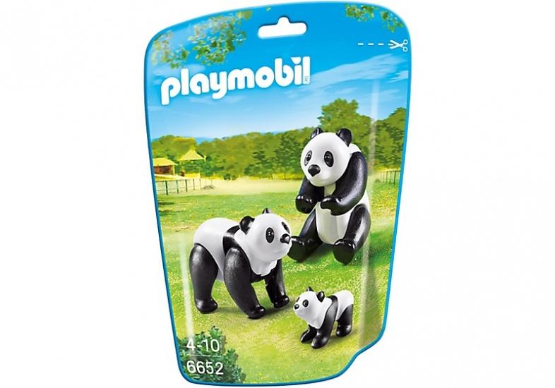 PLAYMOBIL City Life: Panda's met baby (6652)