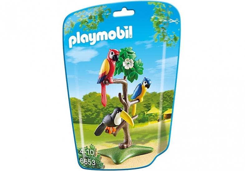 PLAYMOBIL City Life: Papegaaien en toekan (6653)