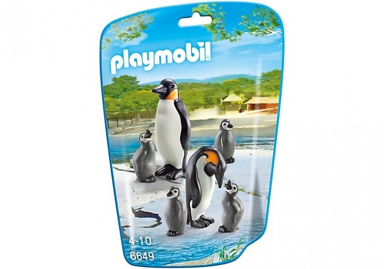 PLAYMOBIL City Life: Pinguïns met jongen (6649)