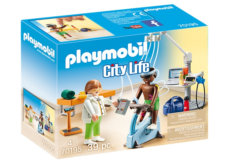 Playmobil 70195 City Life Physiotherapeut
