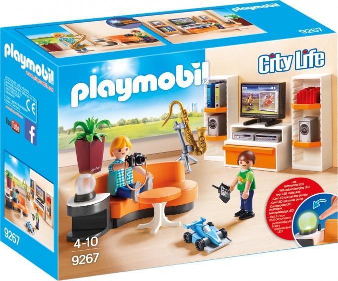 Playmobil City Life 9267 Jongen-meisje Multi kleuren set speelgoedfiguren kinderen