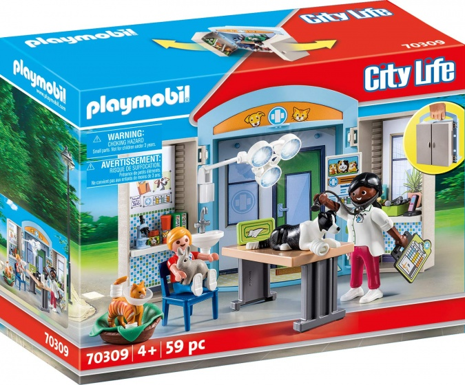 Playmobil City Life Speelbox Dierenarts