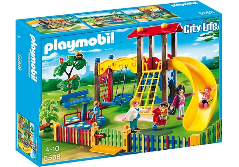 PLAYMOBIL City Life: Speeltuintje (5568)