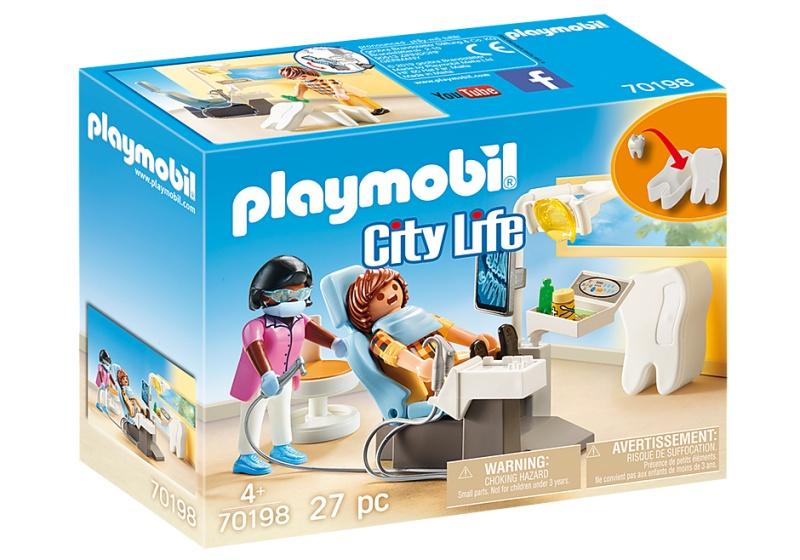 Playmobil 70198 City Life Tandarts