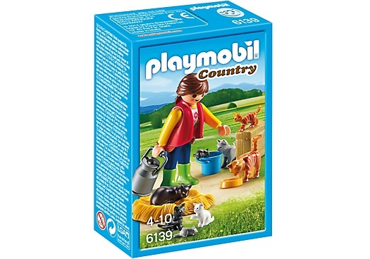 PLAYMOBIL Country: Bonte kattenfamilie (6139)