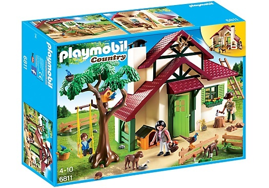 PLAYMOBIL Country: Boswachtershuis (6811)