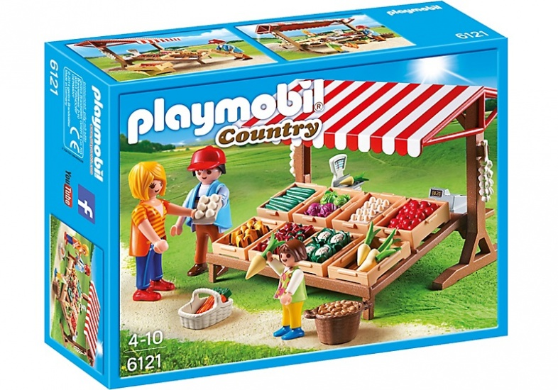 PLAYMOBIL Country: Groentekraam (6121)