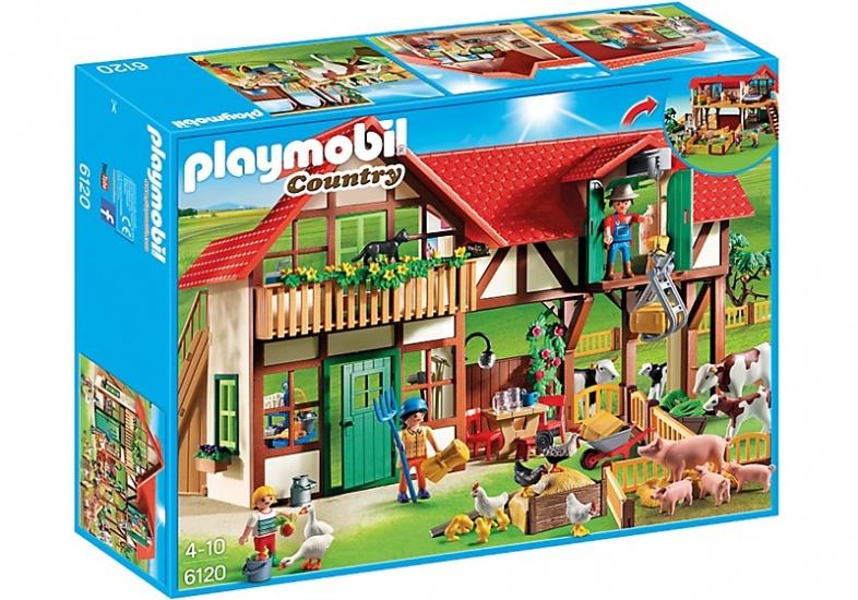 PLAYMOBIL Country: Grote boerderij (6120)