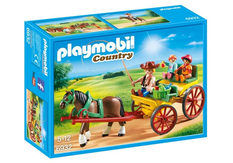 PLAYMOBIL Country Paard en kar (6932)