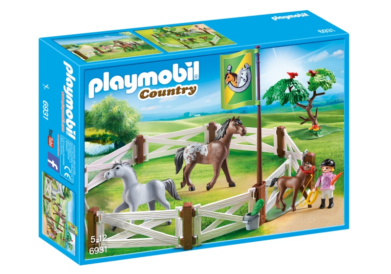 PLAYMOBIL Country paardenweide (6931)