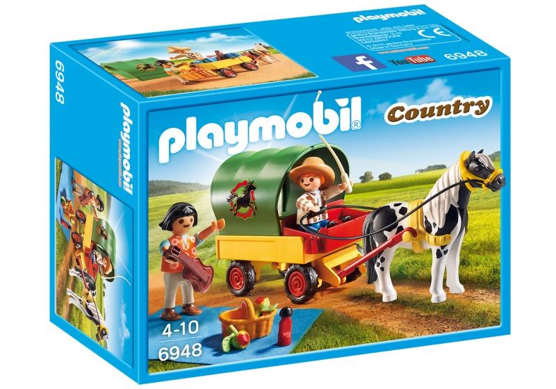 PLAYMOBIL Country picknick met ponywagen 6948