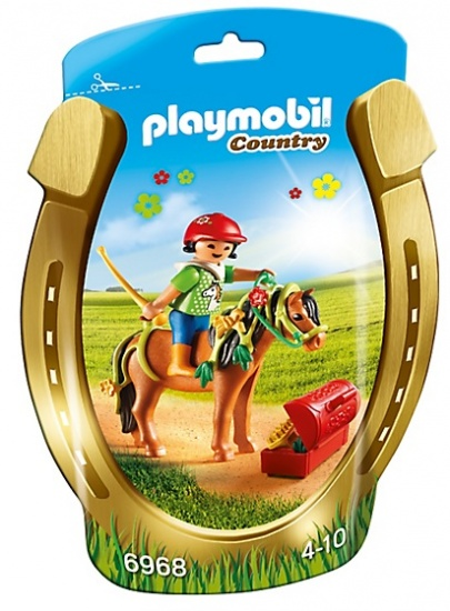 PLAYMOBIL Country: Pony om te versieren, Bloem (6968)