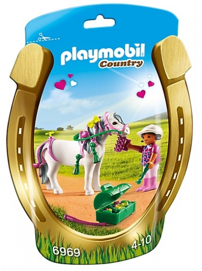 PLAYMOBIL Country: Pony om te versieren, Hart (6969)