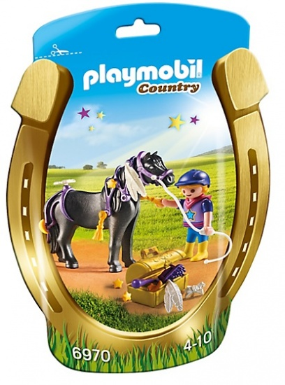 PLAYMOBIL Country: Pony om te versieren, Ster (6970)