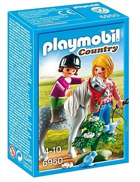 PLAYMOBIL Country: Ponyrijden met mama (6950)