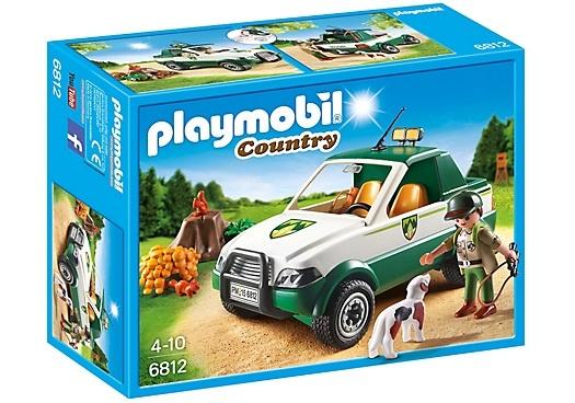 PLAYMOBIL Country: Terreinwagen met boswachter (6812)