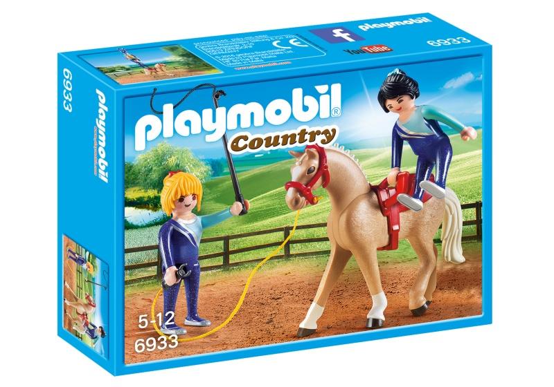 PLAYMOBIL Country Voltigeteam met paard (6933)