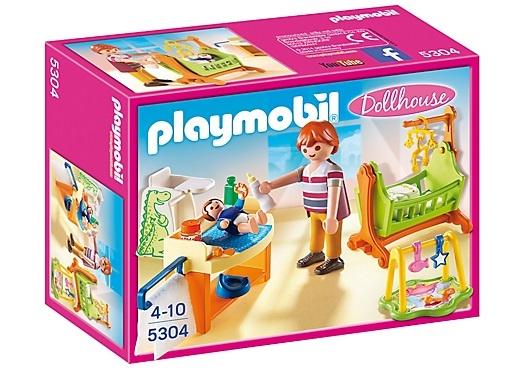 PLAYMOBIL Dollhouse: Babykamer met wieg (5304)