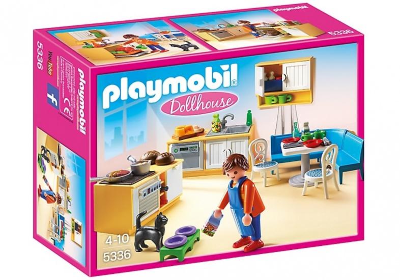 PLAYMOBIL Dolhouse: Keuken met zithoek (5336)
