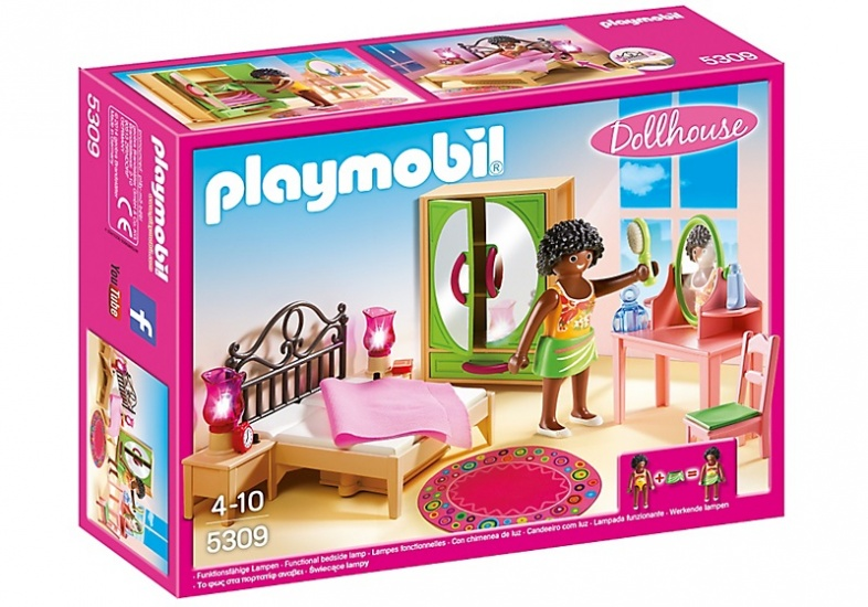PLAYMOBIL Dolhouse: Slaapkamer met kaptafel (5309)