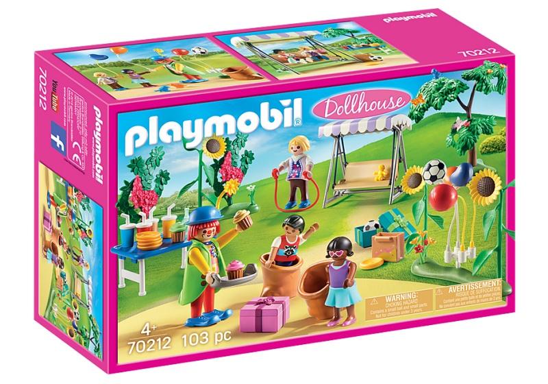 Playmobil 70212 Dollhouse Kinderverjaardag