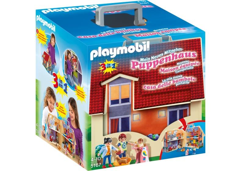 PLAYMOBIL Dollhouse: Mijn meeneempoppenhuis (5167)