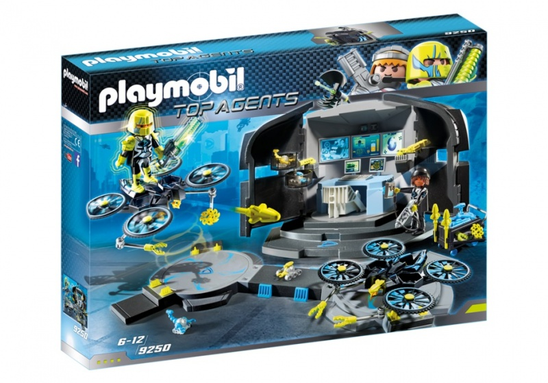 PLAYMOBIL Dr. Drone's commandocentrum (9250)