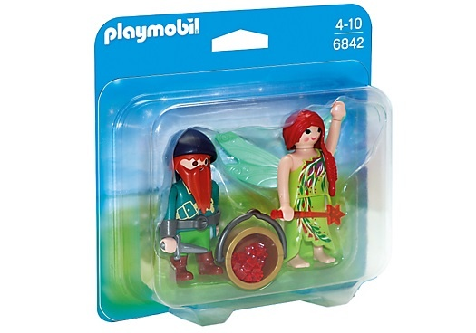 PLAYMOBIL Duopack: Elf en dwerg (6842)