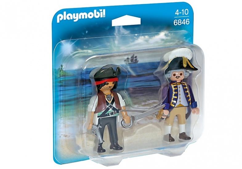 PLAYMOBIL Duopack: Piraat en soldaat (6846)