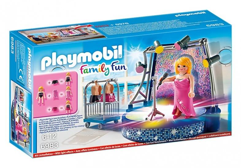 PLAYMOBIL Family Fun: Podium met artieste (6983)