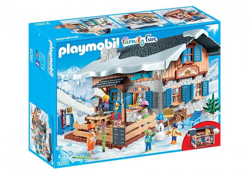PLAYMOBIL Family Fun: Skihut bruin (9280)