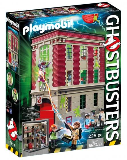 PLAYMOBIL Ghostbusters: Brandweerkazerne (9219)
