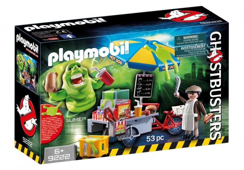 PLAYMOBIL Ghostbusters: Slimer en hotdogkraam (9222)