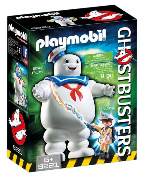 Playmobil Ghostbusters Stay Puft Marshmallow man - 9221