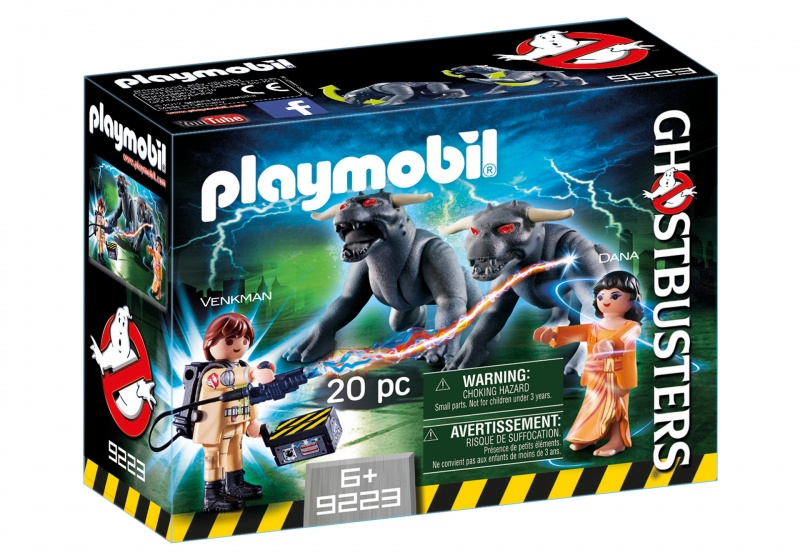 PLAYMOBIL Ghostbusters: Venkman en Terror Dogs (9223)