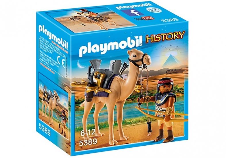 PLAYMOBIL History: Egyptische krijger met dromedaris (5389)