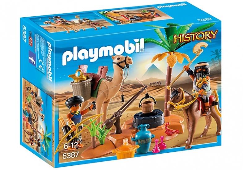 PLAYMOBIL History: Grafrovers met Egyptische schatten (5387)