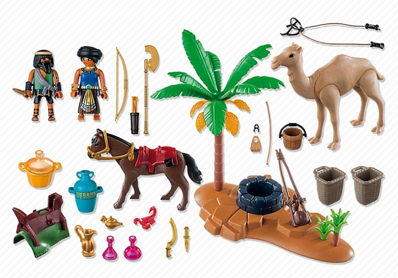 Playmobil history robbers with egyptian treasures 5387 - Playmobil egyptien ...
