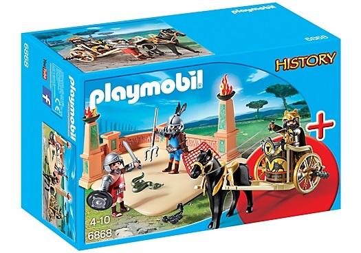 PLAYMOBIL History: Starterset Arena met gladiatoren (6868)