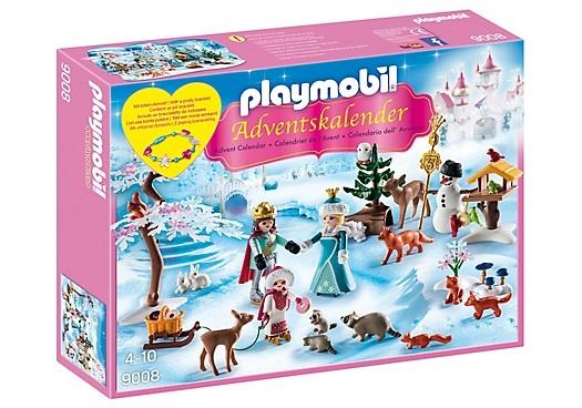 PLAYMOBIL Adventskalender: Koninklijk schaatsfeest (9008)
