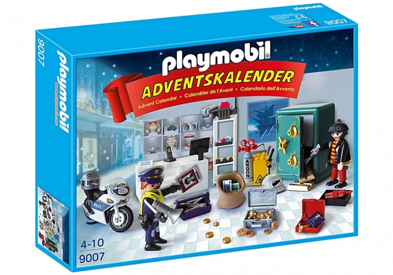 PLAYMOBIL Christmas: Adventskalender Op heterdaad betrapt (9007)