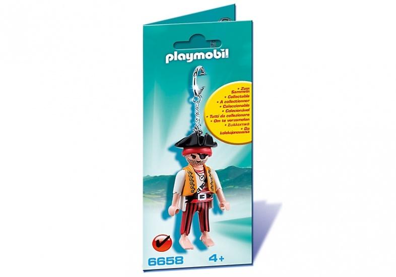 PLAYMOBIL Keyring: Sleutelhanger Piraat (6658)