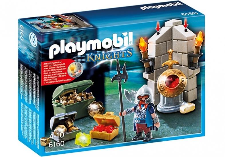 PLAYMOBIL Knights: Bewaker van de koningsschat (6160)