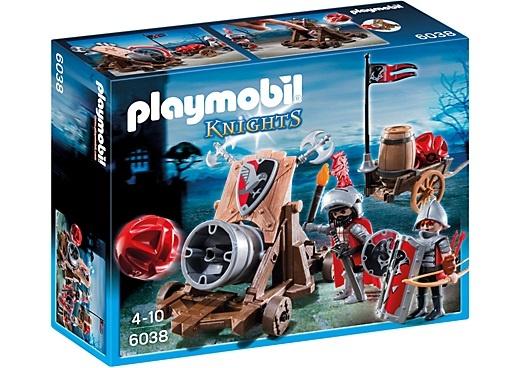 PLAYMOBIL Knights: Groot kanon van de Valkenridders (6038)
