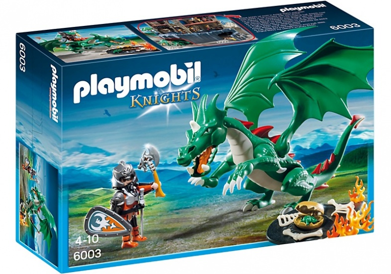 PLAYMOBIL Knights: Kasteeldraak (6003)