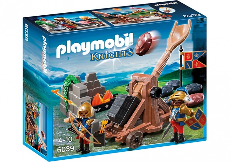 PLAYMOBIL Knights: Katapult van de Leeuwenridders (6039)