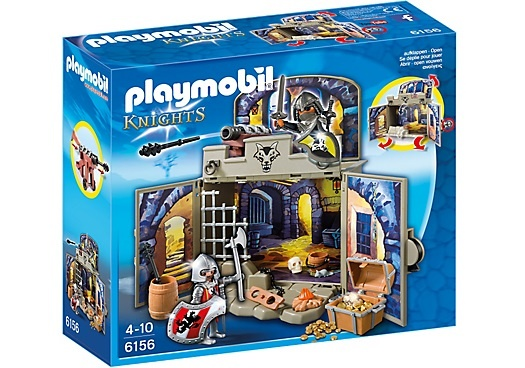 PLAYMOBIL Knights: Speelbox ridder schatkamer (6156)