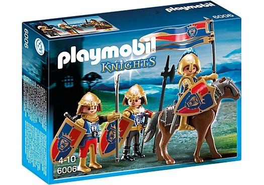 PLAYMOBIL Knights: Verkenners van de Leeuwenridders (6006)