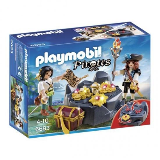 PLAYMOBIL Pirates: Koningklijke Schatkist Met Piraat (6683)