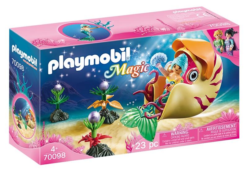 Playmobil 70098 Magic Zeemeermin Gondel